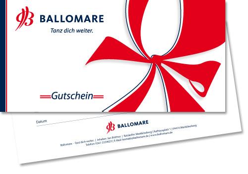 Gutschein Tanzschule Ballomare Leipzig